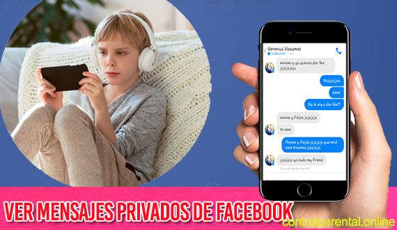 Como ver Mensajes Privados de Facebook